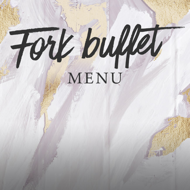 Fork buffet menu at The Lyttelton Arms