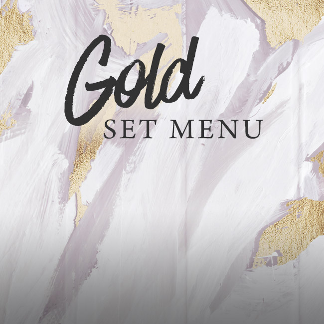 Gold set menu at The Lyttelton Arms