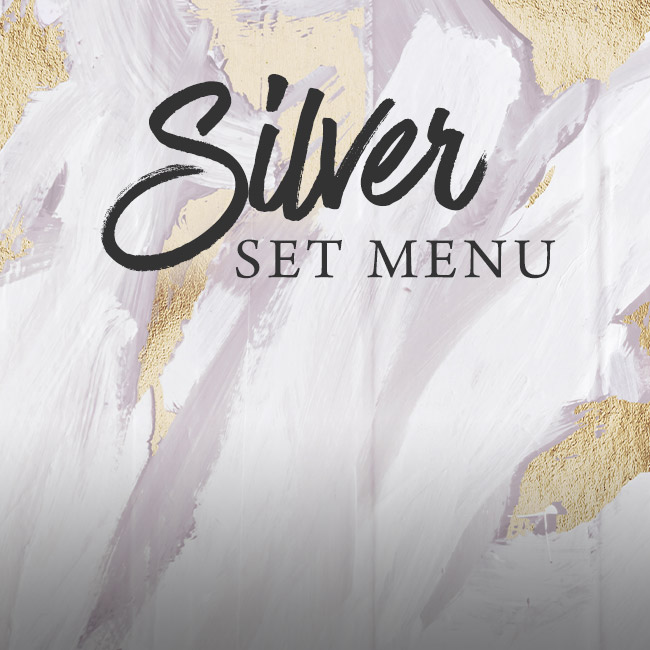 Silver set menu at The Lyttelton Arms