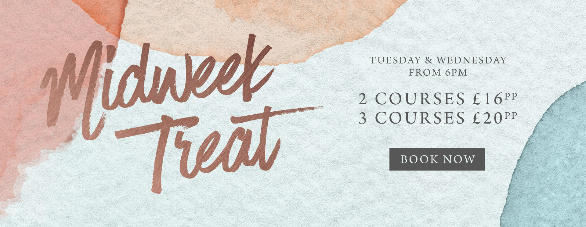 Midweek treat at The Lyttelton Arms - Book now