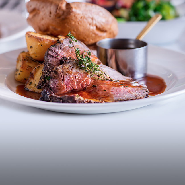 A La Carte menu at The Lyttelton Arms