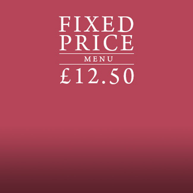 Fixed Price Menu at The Lyttelton Arms